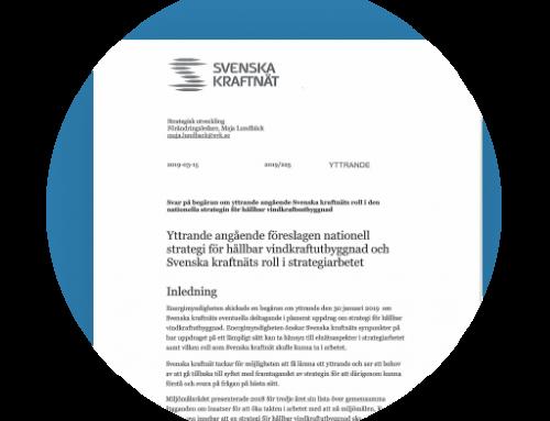 Svenska Kraftnät sågar utredning om stor vindkraftsatsning.